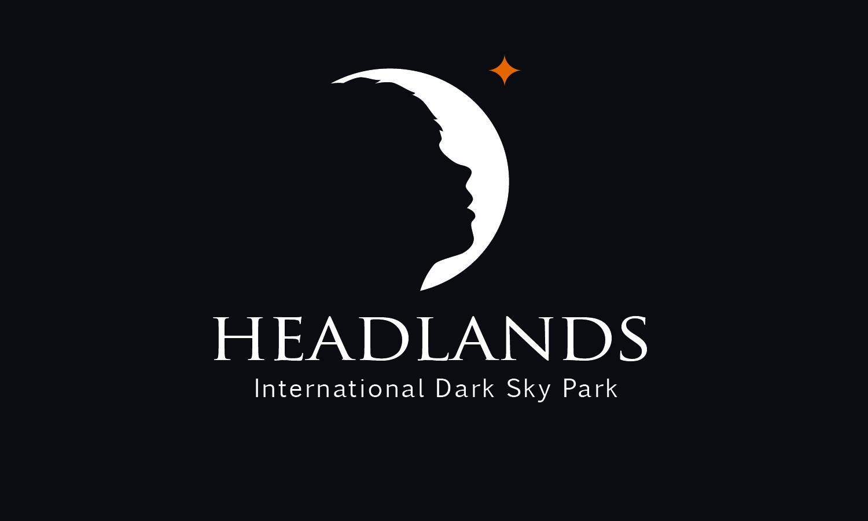 Headlands logo black top align